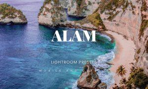 Alam Lightroom Presets Dekstop and Mobile