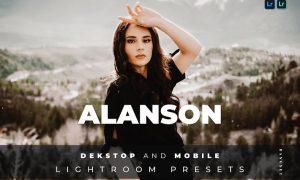 Alanson Desktop and Mobile Lightroom Preset