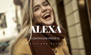 Alexa Lightroom Presets Dekstop and Mobile