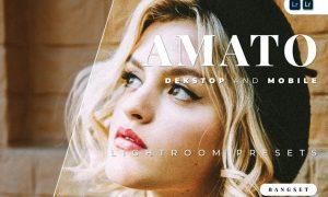 Amato Desktop and Mobile Lightroom Preset