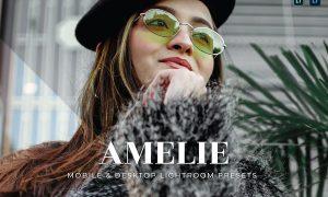 Amelie Mobile and Desktop Lightroom Presets
