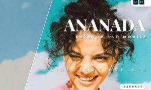 Ananada Desktop and Mobile Lightroom Preset