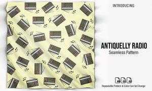 Antiquelly Radio Patterns TDN8EX3