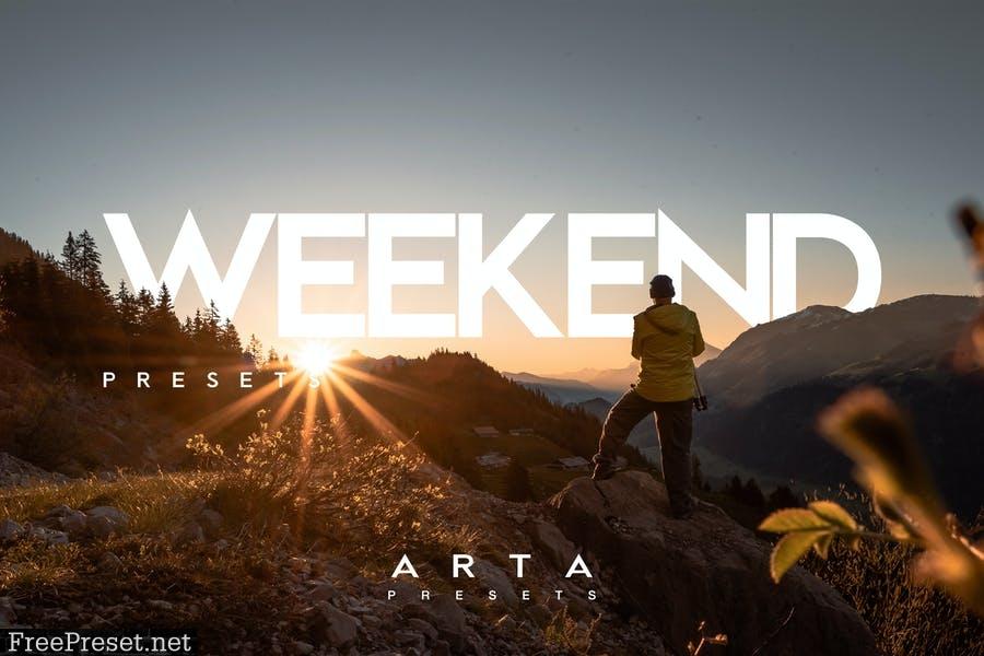 ARTA Weekend Presets For Mobile and Desktop