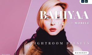 Bahiyaa Desktop and Mobile Lightroom Preset