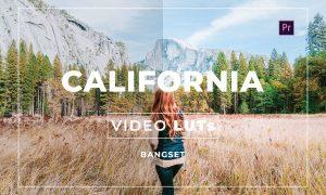 Bangset California Video LUTs