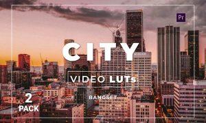 Bangset City Pack 2 Video LUTs