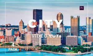 Bangset City Pack 4 Video LUTs