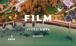 Bangset Film Pack 1 Video LUTs
