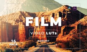 Bangset Film Pack 16 Video LUTs