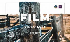 Bangset Film Pack 17 Video LUTs