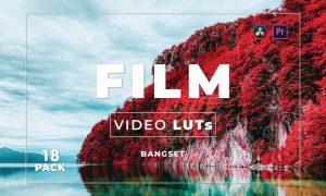 Bangset Film Pack 18 Video LUTs