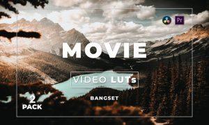Bangset Movie Pack 2 Video LUTs