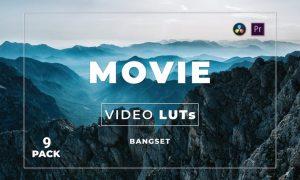 Bangset Movie Pack 9 Video LUTs
