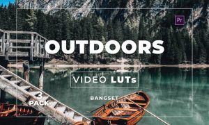 Bangset Outdoors Pack 3 Video LUTs