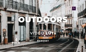 Bangset Outdoors Pack 4 Video LUTs
