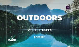 Bangset Outdoors Pack 5 Video LUTs