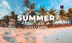 Bangset Summer Video LUTs