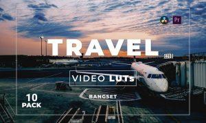 Bangset Travel Pack 10 Video LUTs