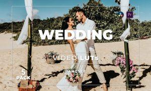 Bangset Wedding Pack 5 Video LUTs