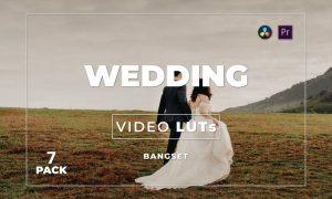 Bangset Wedding Pack 7 Video LUTs