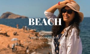 Beach Lightroom Presets Dekstop and Mobile