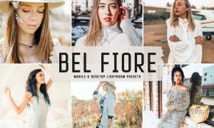 Bel Fiore Mobile & Desktop Lightroom Presets