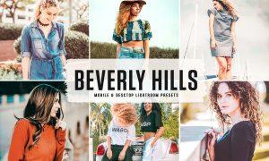 Beverly Hills Mobile & Desktop Lightroom Presets