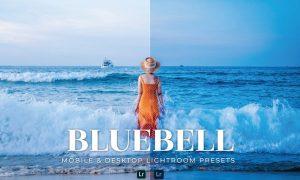 Bluebell Mobile and Desktop Lightroom Presets
