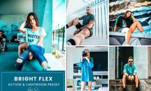 Bright Flex Photoshop Action & Lightrom Presets