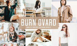 Burn Ovard Mobile & Desktop Lightroom Presets