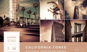 California Tones Action & Lightroom Preset