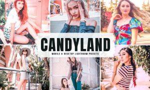 Candyland Mobile & Desktop Lightroom Presets