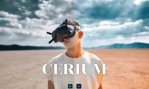 Cerium Mobile and Desktop Lightroom Presets