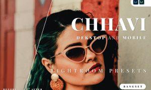 Chhavi Desktop and Mobile Lightroom Preset