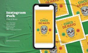 Cinco De Mayo Instagram Pack WDM6MY9