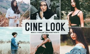 Cine Look Mobile & Desktop Lightroom Presets