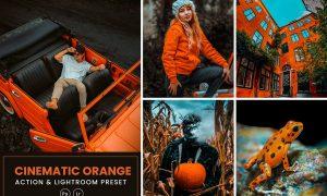 Cinematic Orange Action & Lightrom Presets