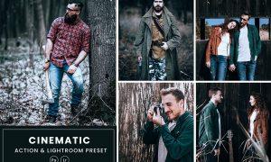 Cinematic Tone Photoshop Action & Lightrom Presets