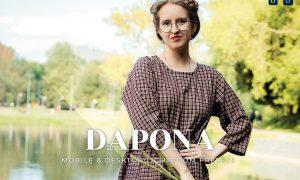 Dapona Mobile and Desktop Lightroom Presets