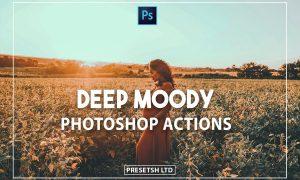 Deep Moody Photoshop Actions
