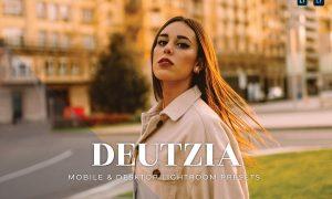 Deutzia Mobile and Desktop Lightroom Presets