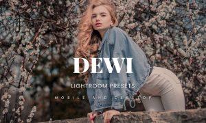 Dewi Lightroom Presets Dekstop and Mobile