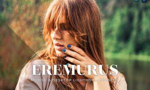 Eremurus Mobile and Desktop Lightroom Presets