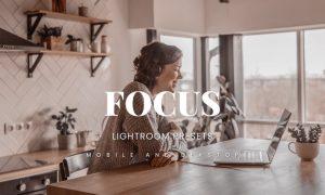 Focus Lightroom Presets Dekstop and Mobile