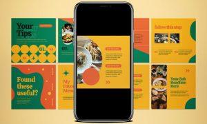 Food Instagram Carousel J23KBLD