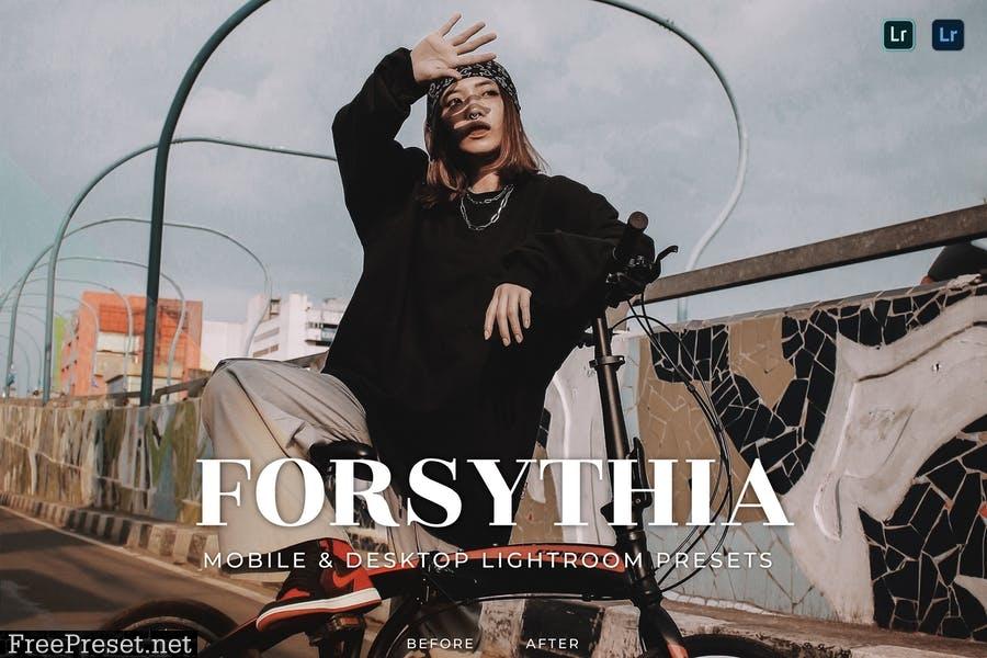 Forsythia Mobile and Desktop Lightroom Presets