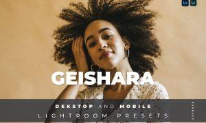 Geishara Desktop and Mobile Lightroom Preset