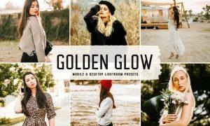 Golden Glow Mobile & Desktop Lightroom Presets