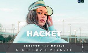 Hacket Desktop and Mobile Lightroom Preset
